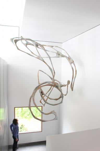 Wolfgang Flad, sculpture, installation, art in building