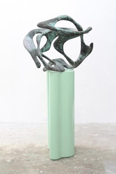Wolfgang Flad, Skulptur, sculpture, aluminum, copper