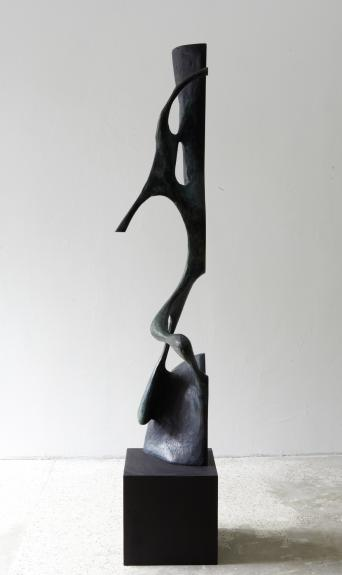 Wolfgang Flad, bronze, bronce, Skulptur, sculpture, Neusilber, nickel silver